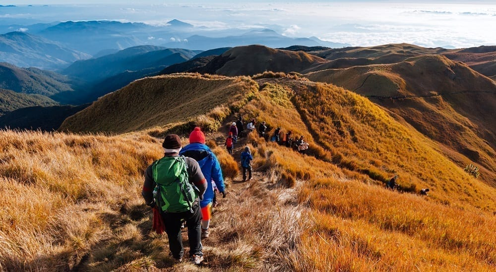 mt. pulag hiking in philippines