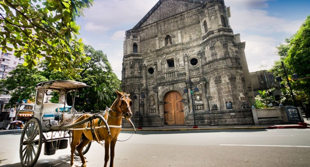 horse carriage in manila