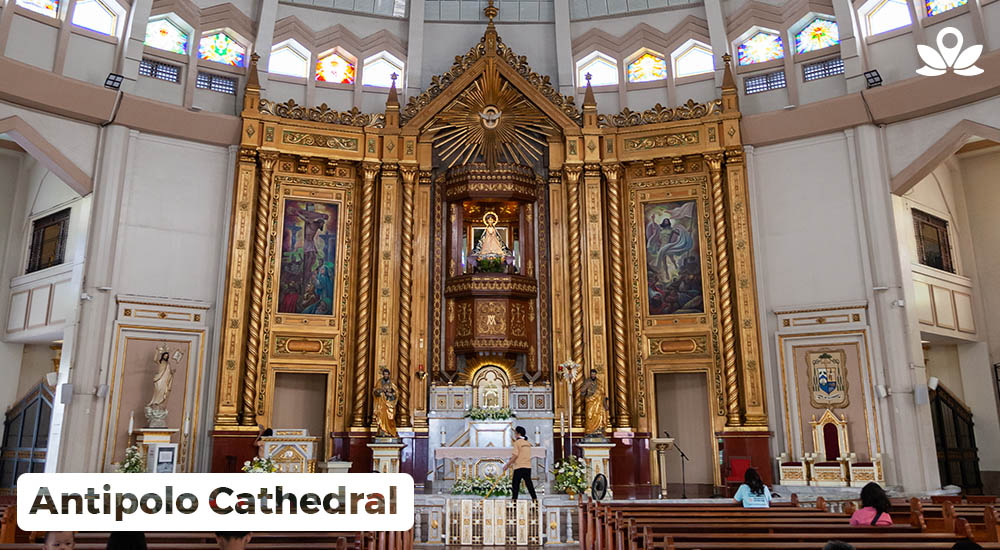 interior of antipolo cathedral