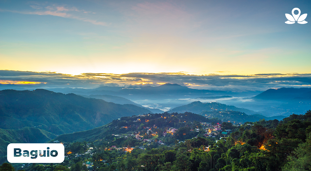 stunning view of baguio