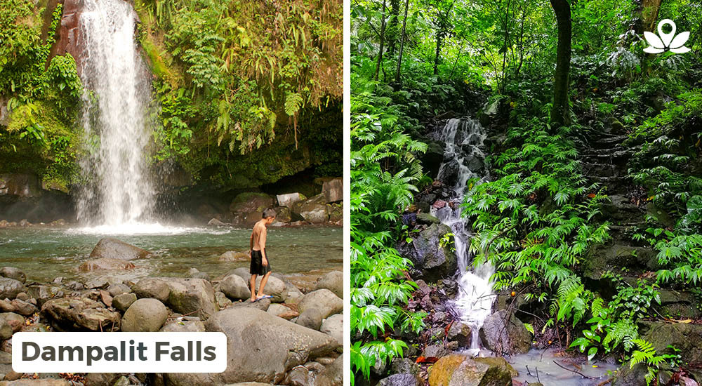 stunning view of the dampalit falls in laguna