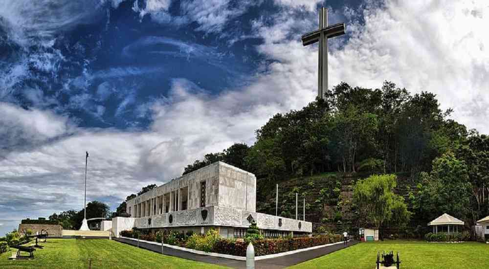 shrine of valor bataan